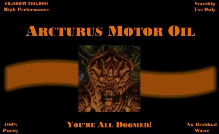 arcturus motor oil
