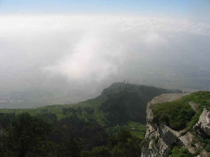 Erice Mountain Down