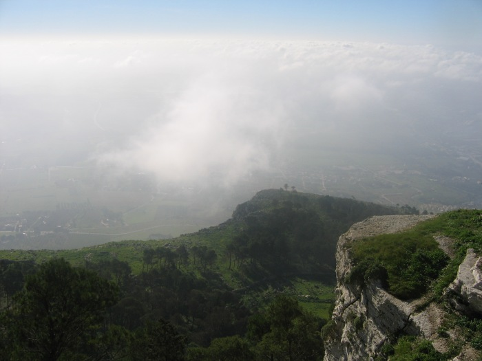 Erice Mountain Down